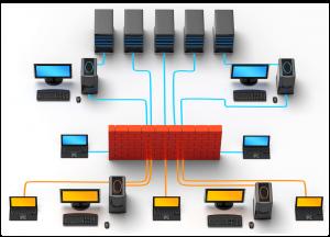 نصب شبکه کامپیوتری در محل