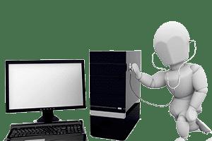 عیب یابی کامپیوتر در محل