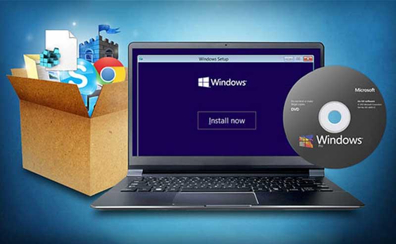 نصب ویندوز بر روی دستگاه هایی که درایور سی دی ندارند